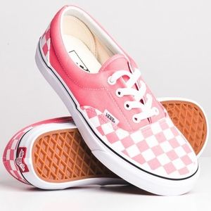 HOST PICK💗 Pink checkered vans